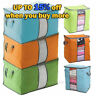 Foldable Home Closet Storage Bag Organizer Box Anti-bacterial Clothes Quilt BUY