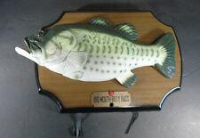Vintage 1999 Gemmy Big Mouth Billy Bass Singing Fish