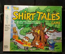 Vintage 1983 The Shirt Tales Game 3D Board Game from Milton Bradley