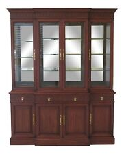 47610Ec: Henkel Harris Model 2386 4 Door Cherry Breakfront