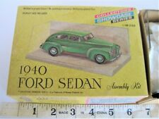 1/48 Scale Vintage 1966 Renwal Model Car Kit 1940 Ford Collector'S Showcase Seri