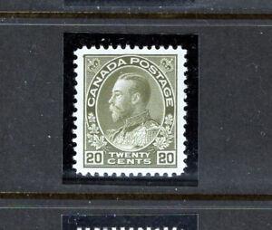 Canada 119 XF og VLH, CV $100