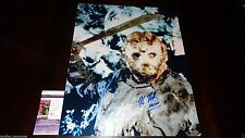 KANE HODDER SIGNED 16X20 METALLIC FAMOUS MACHETE PHOTO JASON FRIDAY 13TH JSA