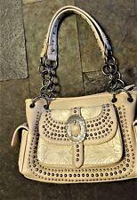 CONCEALED Carry Gun PURSE Handbag  Montana West Tooled Design Studs Chain    c B
