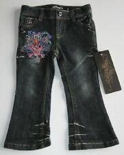 Ed Hardy Tod Girls Love Kills Slowly Jeans (4) NWT
