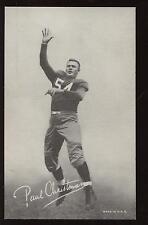 1948/50 W468 Exhibit Supply Football Card Paul Christman SP EXMT+