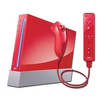 Nintendo Wii New Super Mario Bros Pack 512 MB Rot Spielekonsole (PAL)