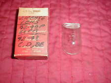 NOS MOPAR 1942-8 ALL 1949 PLYMOUTH DELUXE LICENSE LENS ALL MODELS