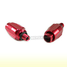 TOKEN TK690 Alloy Down Tube Cable Adjuster, 5MM, 2 Pcs, Red