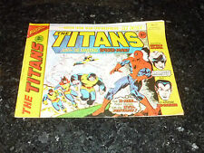 THE TITANS Starring AMAZING SPIDER-MAN Comic - No 23 - Date 27/03/1976 - MARVEL