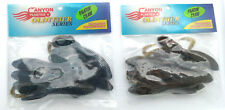 CANYON PLASTICS - LOT SOFT PLASTIC BAITS- 2 -  PACKS - LG. Fightin Craw