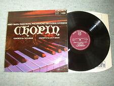 Vtg LP Chopin Piano Concerto 1+2 Abbey Simon RPO Eugene Goossens MFP 2048 EMI