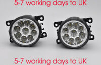 2x White Led Front Fog Light For Land Rover Freelander 2 and Discovery 4
