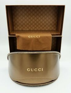 Brand New XL Gucci Luxury Sunglasses Eyeglasses Spectacle Lunettes Glasses Case
