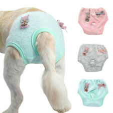 Pet Dog Sanitary Nappy Diaper Soft Puppy Physiological Underwear Pants Clothes