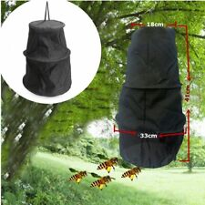 Black 3 Layers Beekeeper Bee Cage Swarm Trap Swarming Catcher Beekeeping Tool