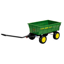 JOHN DEERE NEW IN BOX  RIDE ON FARM WAGON STAND ALONE OR TRAILER! LP53519