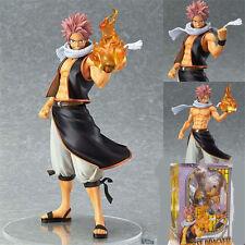 Anime Fairy Tail Characters 20CM PVC Natsu Dragneel HQF Figure Figurine NO BOX