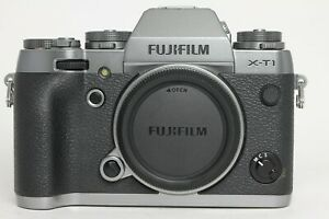 Fuji Fujifilm X-T1 16.3MP Mirrorless Digital Camera Body Graphite