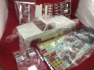 TAMIYA SUPER CLODBUSTER  BODY + plastic set  NEW clod buster Decals chrome