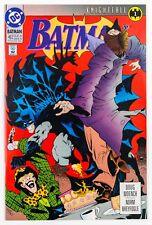 Batman #492 (1993 DC, 1st Print) Knightfall Part 1 NM