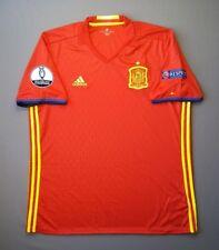 Spain Jersey 2015 2016 Home XL Shirt Trikot Camiseta Football Soccer Adidas ig93