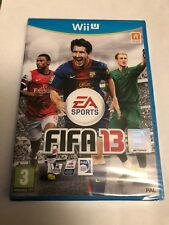 FIFA 13 Official Nintendo Wii U 5030930110062 PAL UK Purchased. New And Sealed