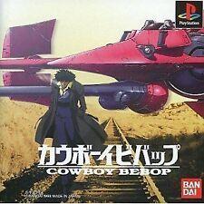 USED PS1 PS PlayStation 1 Cowboy Bebop SLPS01126 Japan import
