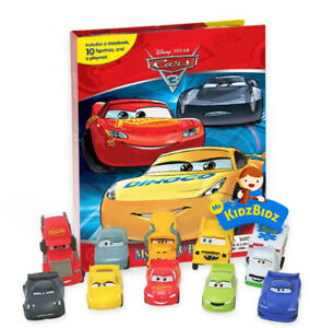 New Disney CARS 3 My Busy Book, Map, 10 Figures