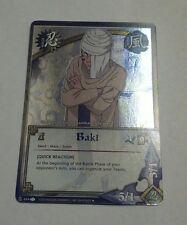 Naruto Cards CCG TCG Baki 464 FOIL UNCOMMON COMBINE SHIPPING