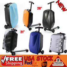 Scooter Luggage Rolling Suitcase Foldable Trolley Travel Carry Skateboard Bag