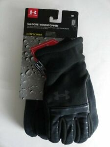 NWT Under Armour Men's Medium Storm1 GORE Running Windstopper Gloves