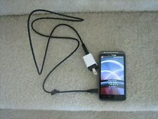 Verizon HTC THUNDERBOLT ADR6400L 32GB Cell Phone w/PwrCord NoSIM - WORKS!
