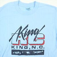Vtg 80s 90s King RC T-Shirt LARGE Radio Control Cars USA Made Stedman Thin NC
