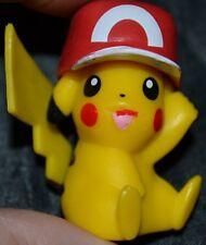 """2"""" Ash Hat Pikachu # 25 Pokemon Toys Action Figures Figurines 1st Series Gen 1"""