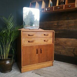 E. Gomme GPlan Brandon Dressing Table Cabinet with Drawers in Light Oak