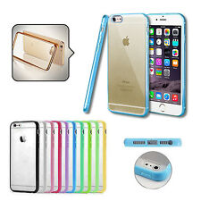 FUNDA SILICONA BUMPER CARCASA TRASERA HARD BACK CASE COVER PARA APPLE IPHONE
