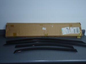 New NOS OEM GM Side Window Air Deflectors 95961277 2012-2018 Chevy Sonic Smoke