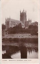 The Cathedral From River, WORCESTER, Worcestershire RP