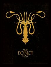 Game of Thrones - House Greyjoy Sigil - 30 x 40cm Framed Poster Print FP11388P