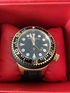 Swiss Legend Black Watch With Box