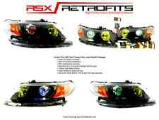 Honda Civic 06-11 Retrofit Projector Bixenon Headlights 8th FG2 FA5 Coupe Sedan