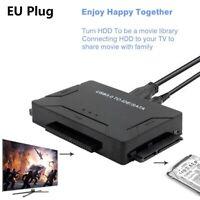 USB 3.0 a 2.5 / 3.5 / 5.25 IDE SATA Adaptador de disco duro Cable conversor d 8Y