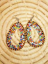 New African Maasai Earrings Masai Massai Africa S/M jemo403