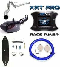 "H&S XRT Pro Tuner DPF EGR Delete 5"" Exhaust S&B Ford 6.7L Powerstroke Diesel"
