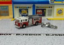 Pierce Dash Fire Engine Truck Red Keychain Key Chain or Zipper Fob New