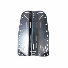 Scuba Tech Diving Aluminum Black Backplate