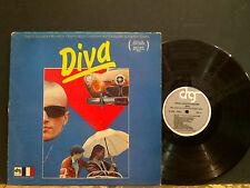 DIVA  Original Soundtrack    LP  Cult film   RARE      GREAT !
