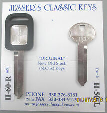 Rare Original Keys LINCOLN 1993 1994 Corporate Edition NOS '93 '94 Key Set
