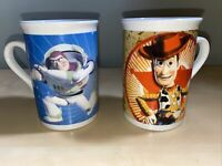 Disney/Pixar 2010 Toy Story Woody & Buzz Coffee Mug- Preowned